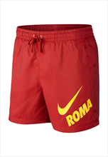 Nike AS Roma Short Woven Flow Authentic rot/gelb