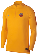 Nike AS Roma Trainingsoberteil Squad Drill Top gelb/rotbraun