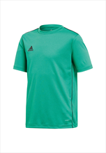 adidas Kinder Shirt Core 18 Training Jersey grün/schwarz