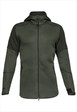 Under Armour Kapuzenjacke Unstoppable Move Hoody FZ olivegrün/dunkelgrün