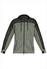 Under Armour jas met capuchon Unstoppable Cold Gear Swacket olijfgroen/donkergroen