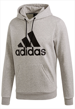 adidas Kapuzenpullover Must Haves Badge of Sport Hoody Fleece grau/schwarz