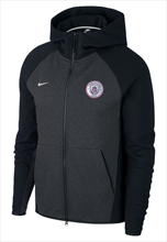 Nike Manchester City jas met capuchon Tech Fleece Authentic Hoody zwart/zilver