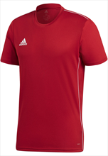adidas Shirt Core 18 Training Jersey rot/weiß