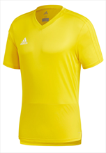 Adidas shirt Condivo 18 trainingsshirt geel/wit