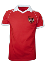Copa Retro Shirt  Austria Away WM 1982 rot/weiß