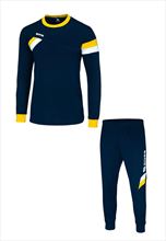 Errea Trainingsset Forward blau/gelb