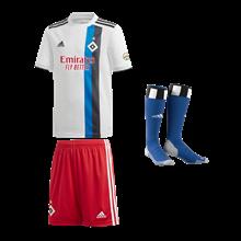adidas Hamburger SV Herren Auswärts Trikot 201920 pinkdunkelblau
