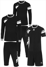 Errea Squadra Training Set black/white