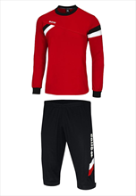 Errea First Training Set red/black
