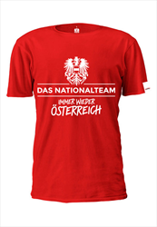 ÖFB Herren Fanshirt Das Nationalteam rot