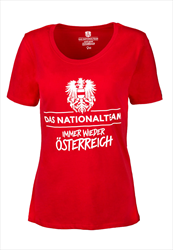 ÖFB Damen Fanshirt Das Frauen Nationalteam rot