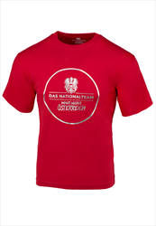 ÖFB Herren Shirt Classic Das Nationalteam rot/silber