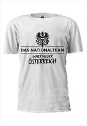 ÖFB Herren Fanshirt Das Nationalteam weiß