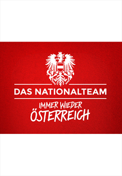 ÖFB Herren Fanshirt Matchday rot/weiß