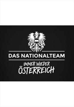 ÖFB Fanshirt Immer wieder Österreich schwarz