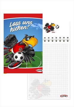 ÖFB Schulstart Set Ostar-Richi 7-teilig rot/schwarz