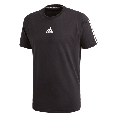 adidas shirt Must Haves 3S Tee zwart/wit