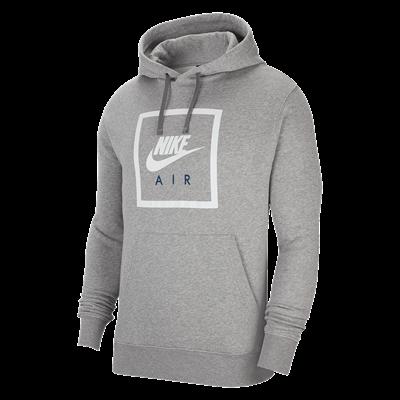 Nike hoodie Sportswear Air IV Hoody donkergrijs/wit