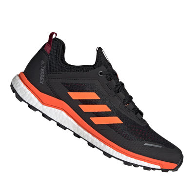 adidas schoenen Terrex Agravic Flow donkerrood/oranje