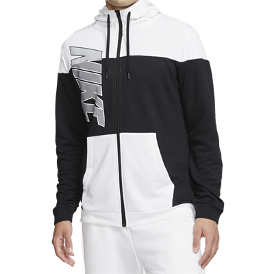 Nike capuchonjack Fleece GSP Jacket zwart/wit