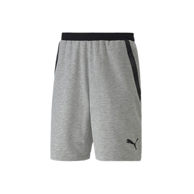Puma short Team Final 21 Casuals grijs/zwart