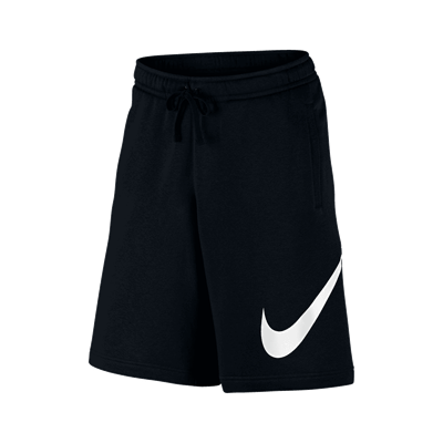 Nike short Sportswear Club EXP BB zwart/wit