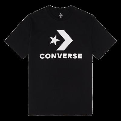 Converse shirt Star Chevron Tee zwart/wit