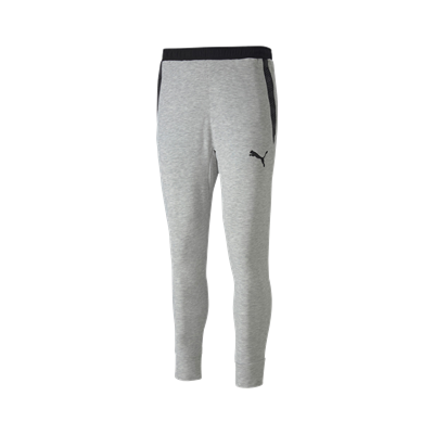 Puma trainingsbroek teamFINAL 21 Casuals Sweat Pants lichtgrijs/zwart