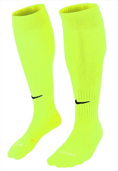 Nike Stutzen Core OTC gelb fluo/schwarz