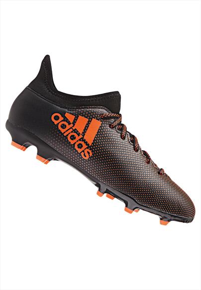 adidas Kinder Fußballschuh X 17.3 FG J schwarz/orange