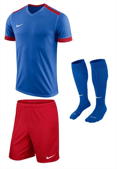 Nike Dressenset Park Derby II blau/rot