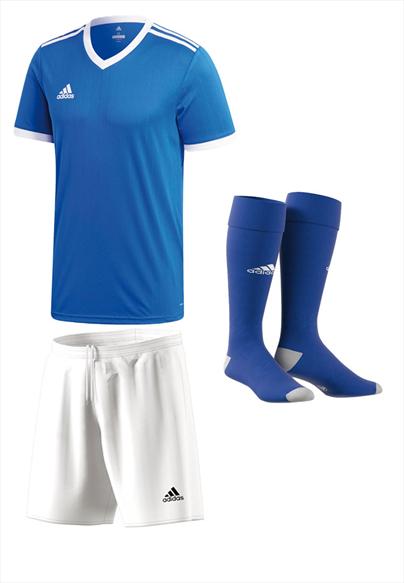 adidas Dressenset Tabela 18 blau/weiß
