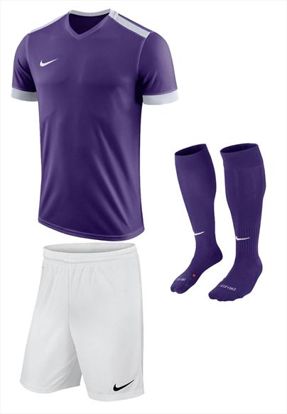 Nike Dressenset Park Derby II violett/weiß