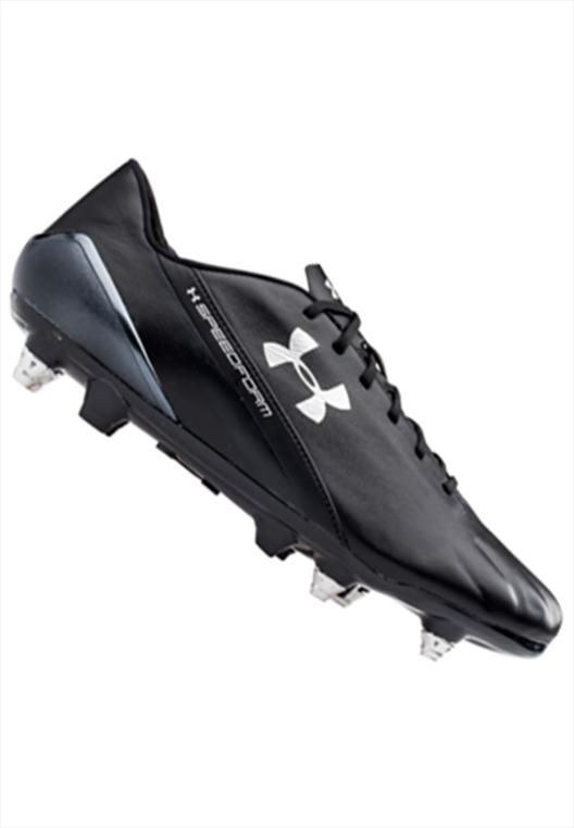 Under Armour Fußballschuh Speedform CRM Leder Hybrid SG schwarz/weiß