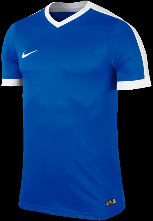 Nike Trainingsshirt Striker IV Jersey blau/weiß
