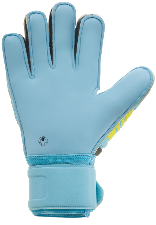 Uhlsport Torwarthandschuhe Eliminator Supersoft blau/gelb