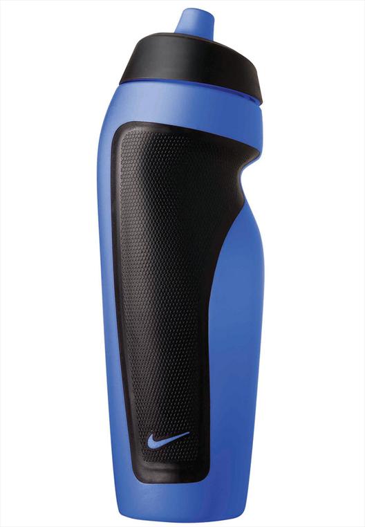 Nike Trinkflasche Sport Water Bottle 600 ml blau/schwarz