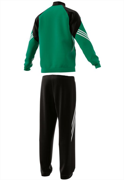 adidas Trainingsanzug Sereno 14 grün/schwarz