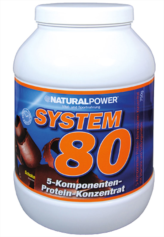 Natural Power Protein System 80 Dose mit 750g