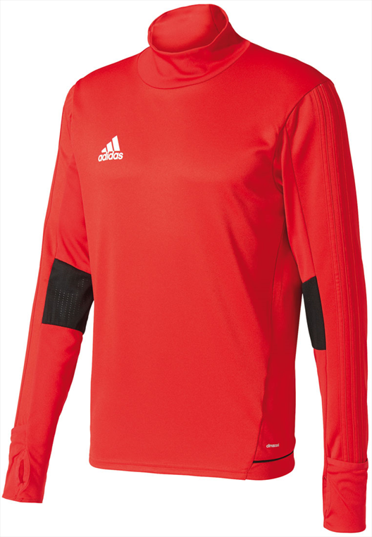 adidas Sweater Tiro 17 Training Top rot/weiß