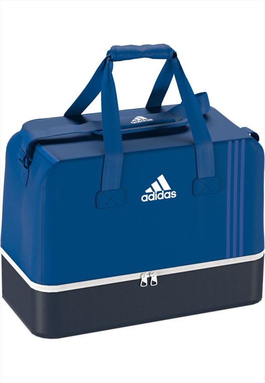 adidas Sporttasche Tiro Teambag Bottom Compartment M blau/schwarz