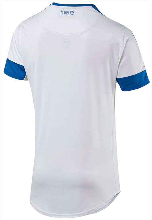 Puma Slowakei Heim Trikot Euro 2016 weiss/blau