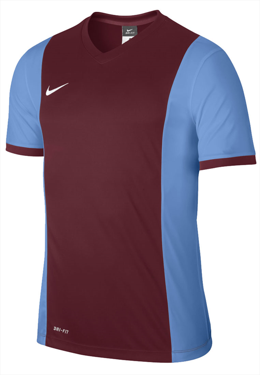 Nike Trikot SS Park Derby dunkelrot/hellblau