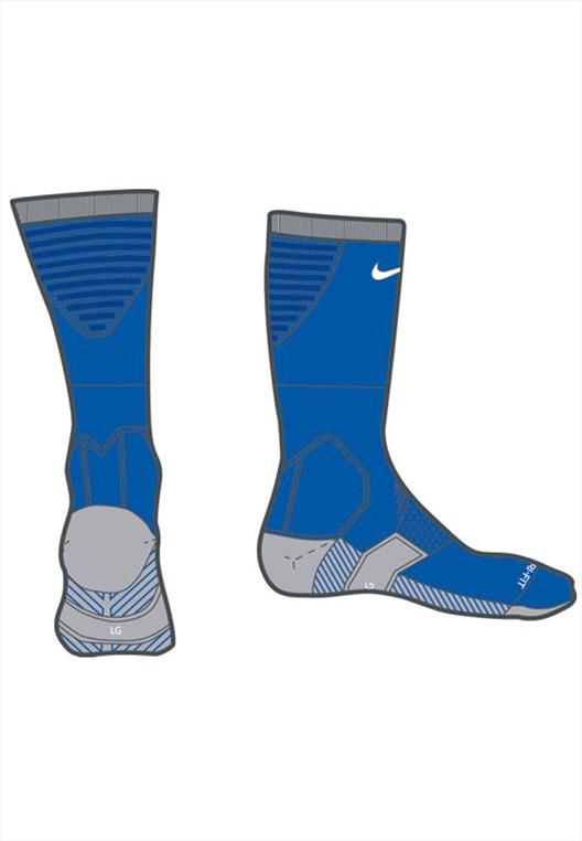 Nike Socken Team Matchfit Cushion Crew Sock blau/weiß