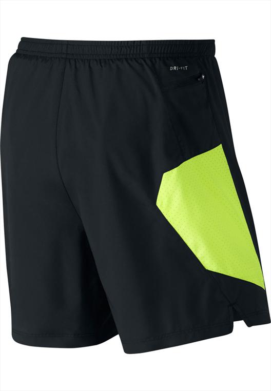 """Nike 7"""" 2-in-1 Short schwarz/gelb"""