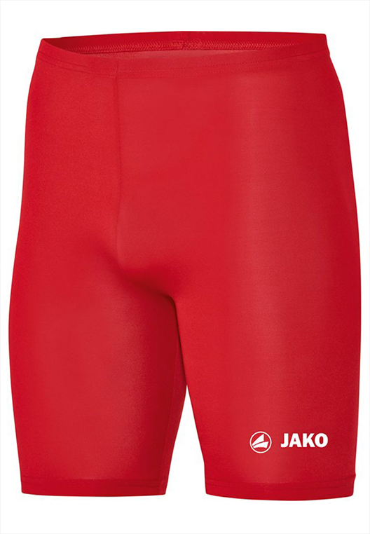 Jako Funktionsshort Tight Basic 2.0 rot/weiß