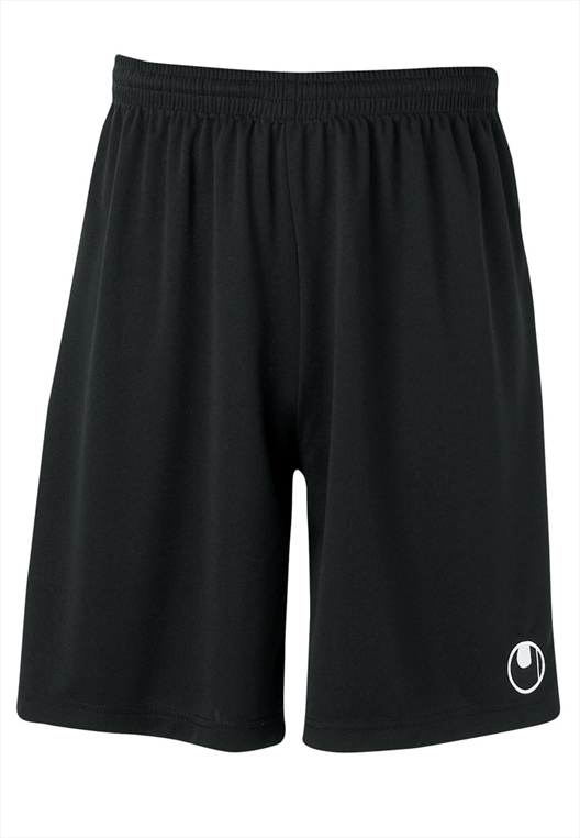 Uhlsport Short Center Basic ohne Innenslip schwarz/weiß