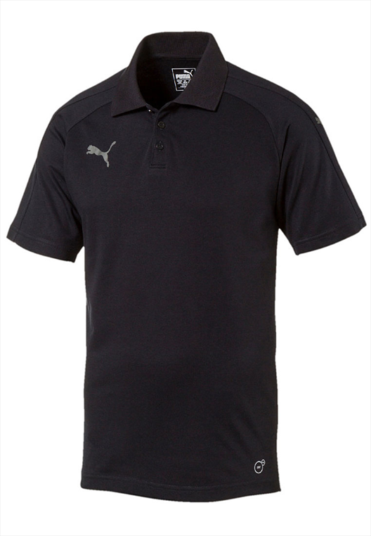 Puma Shirt Ascension Casuals Polo schwarz/grau