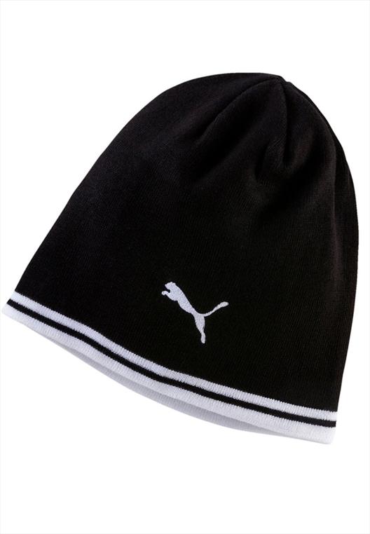 Puma Mütze Beanie schwarz/weiß